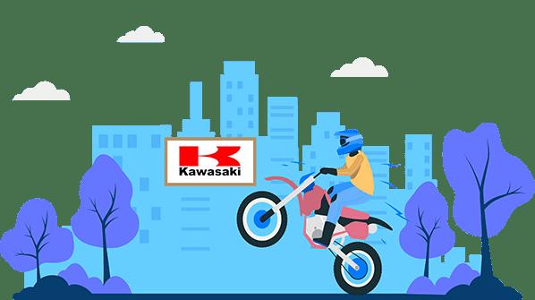 kawasaki two wheeler insurance